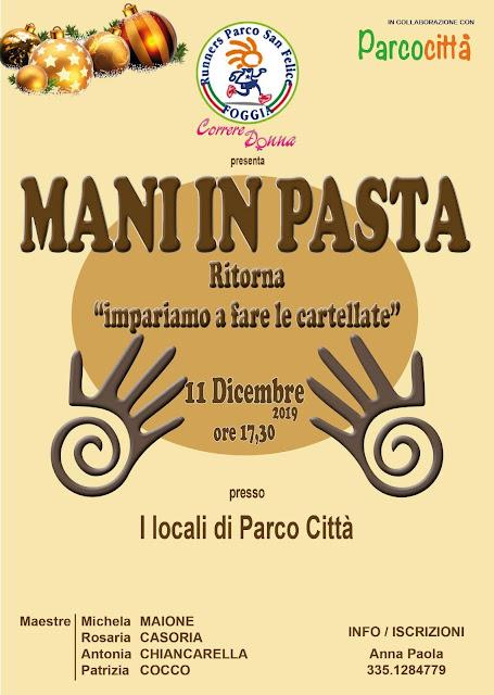 """Mani in Pasta"", le cartellata made Parcocittà di Foggia"