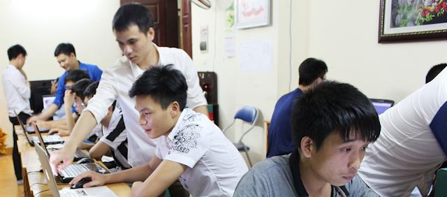 Lớp học drupal tổ túc tại vp 1114 toà 789A Bộ Quốc Phòng, Nhân Mỹ, Mỹ đình Hà Nội