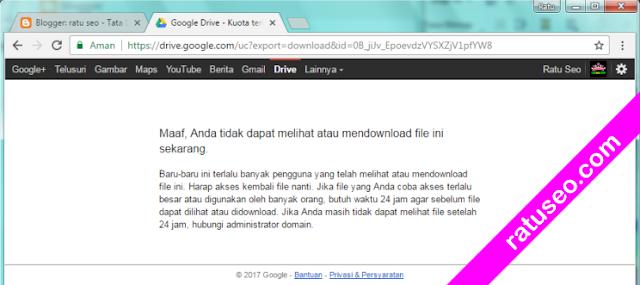 direct download di google drive
