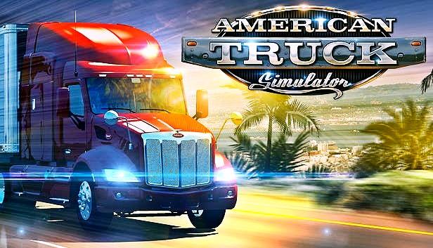 اشهر العاب محاكاة الشاحنات الامريكية | تحميل لعبة American Truck Simulator اللعبة الرائعه لقيادة سيارات النقل الثقيل