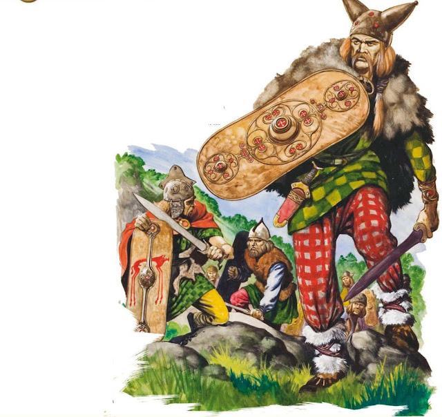 How The Celts Fought Back