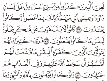 Tafsir Surat Al-Maidah Ayat 76, 77, 78, 79, 80
