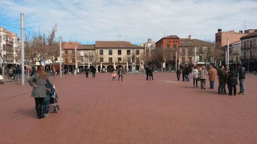 Parte de la Plaza Mayor de Medina del Campo