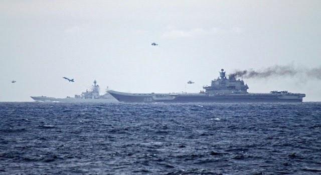 Γιατί βρίσκονται 15 πλοία του ρωσικού πολεμικού ναυτικού ανάμεσα στην Κύπρο και τη Συρία (ΧΑΡΤΗΣ)