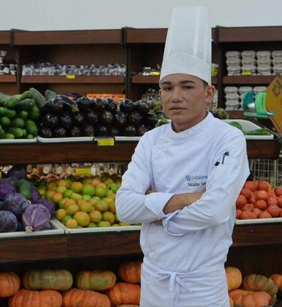 Aluno de gastronomia representará o Brasil em congresso internacional