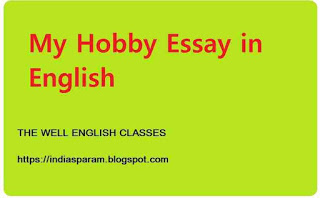 my hobby essay in english for 10th class