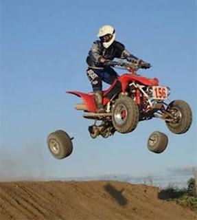 quad losing wheels