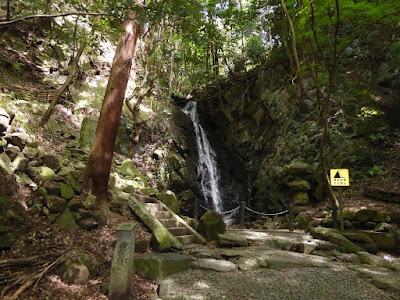 大阪みどりの百選 源氏の滝(交野市)