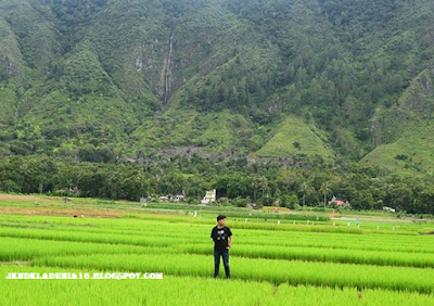 Air Terjun Simangande, Air Terjun Cinta Di Pulau Samosir