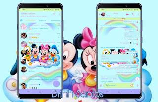 Minnie Baby Theme For YOWhatsApp & Fouad WhatsApp By Leidiane
