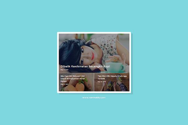 Cara Memasang Featured Post by Label di Blog