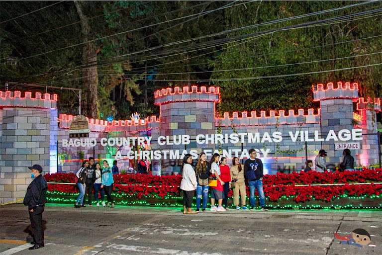 Baguio Country Club Christmas Village