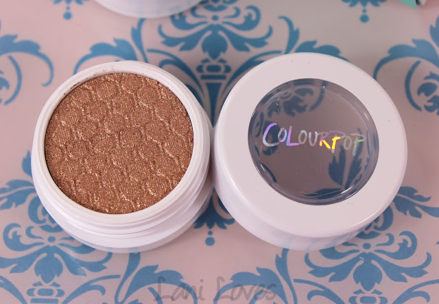 ColourPop Super Shock shadows - Amaze Swatches & Review