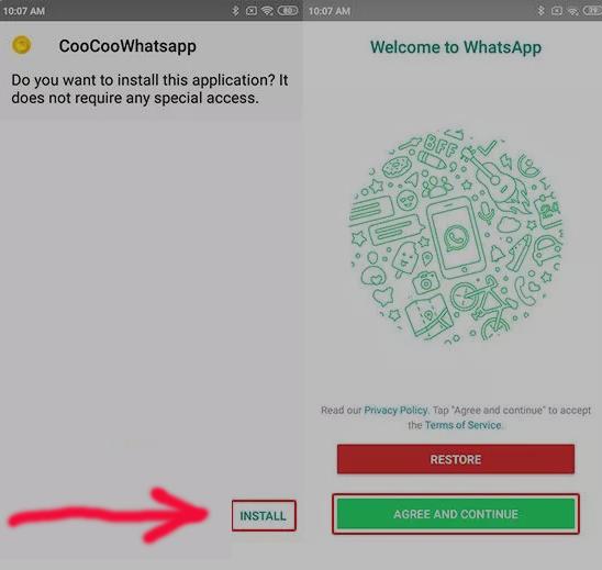 Cara Download COO COO WhatsApp Supaya Tampil Keren 3