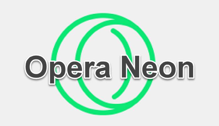 متصفح Opera Neon ومميزاته المدهشة يستحق التجربة