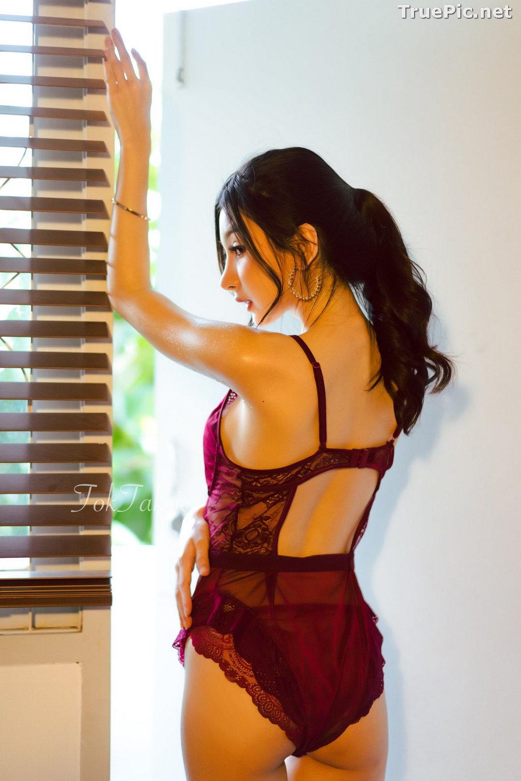 Image Thailand Model - Pattamaporn Keawkum - Red Plum Lingerie - TruePic.net - Picture-6