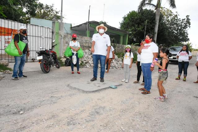 Vecinos del Sur de Mérida piden calles y banquetas
