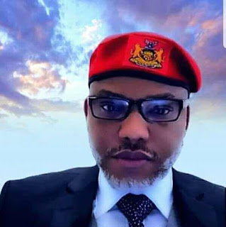Nnamdi Kanu has imposed a curfew in Anambra state