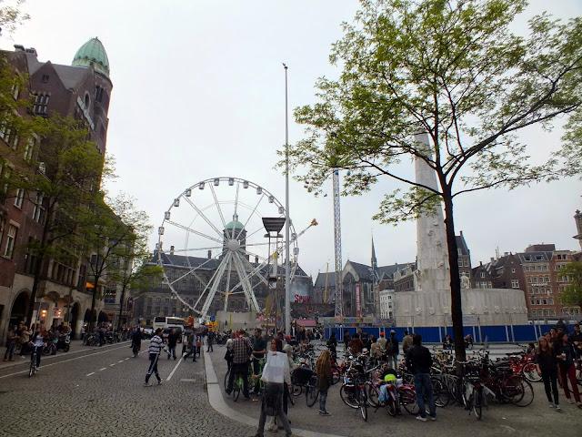 Plaza Dam de Amsterdam