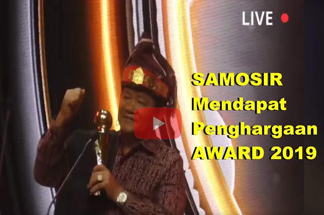 Raih Award 2019, Ini Kata Bupati  Samosir Tentang Jokowi