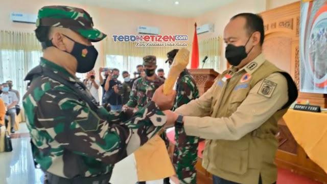 Bupati Tebo Sukandar, Resmi Buka TMMD Ke-112 Kodim 0416/Bungo Tebo