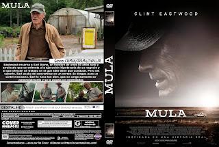 CARATULA MULA-THE MULE 2018[COVER DVD]