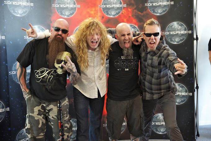"""Dave Mustaine habla sobre posibles shows con el """"Big 4"""""""