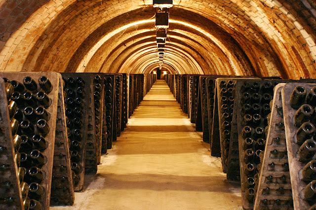 Penedés, Tarragona, España - una gran zona vinícola