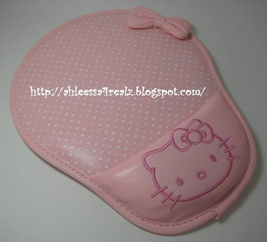 2db2d68d7 Product Review: Born Pretty Cute Hello Kitty Laptop/PC Mouse Pad Mat Wrist  Rest in Light Pink