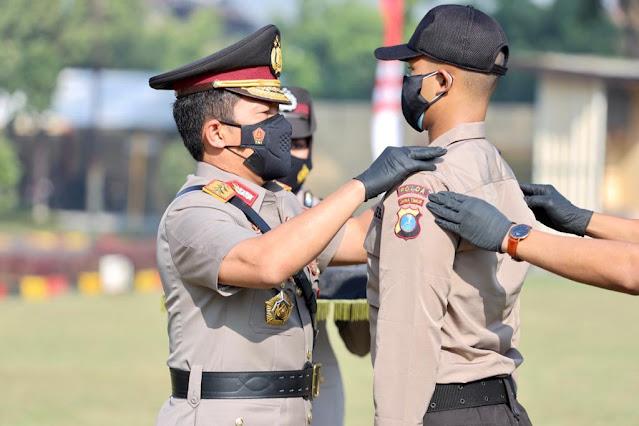 calon perwira polisi