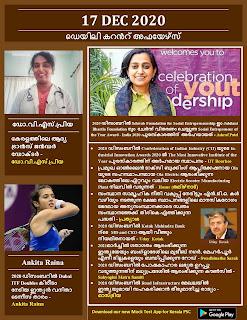 Daily Malayalam Current Affairs 17 Dec 2020
