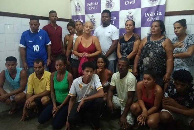 Ação conjunta entre PM e Civil prende 20 traficantes em Itaberaba