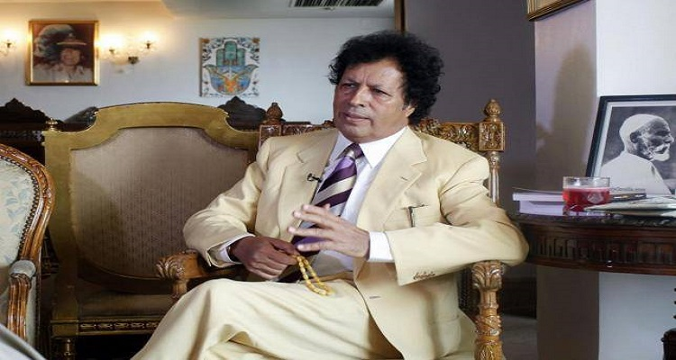 قذاف الدم : صواريخ الغرب وليس الليبيين من أسقطت نظام القذافى