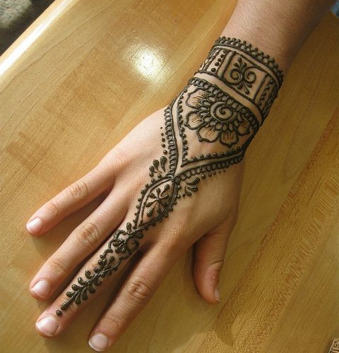 Ultra-Modern Mehndi Designs For Hands