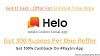 [100% Pro Tricks] How To Earn Money In Helo App
