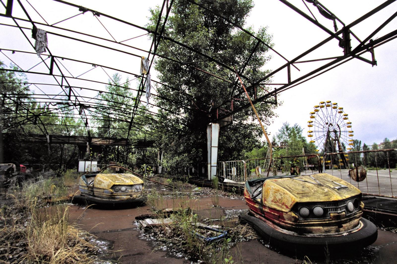 Pripyat,  ciudad fantasma en Ucrania