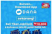 Promo DANA Beli Tiket Jakcloth Dan Tote Bag Harga Spesial Serba Rp10.000