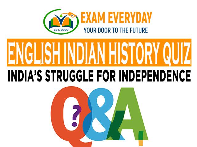 Indian History Quiz-1