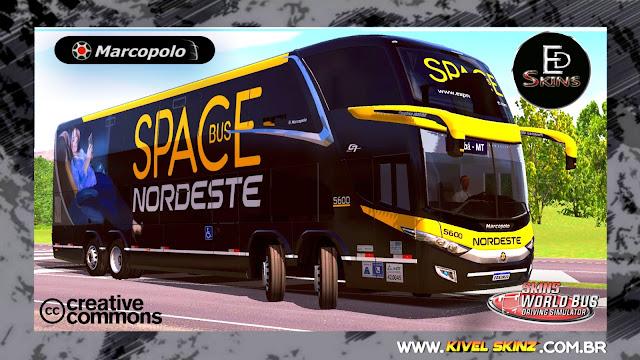 PARADISO G7 1800 DD 8X2 - VIAÇÃO EXPRESSO NORDESTE SPACE