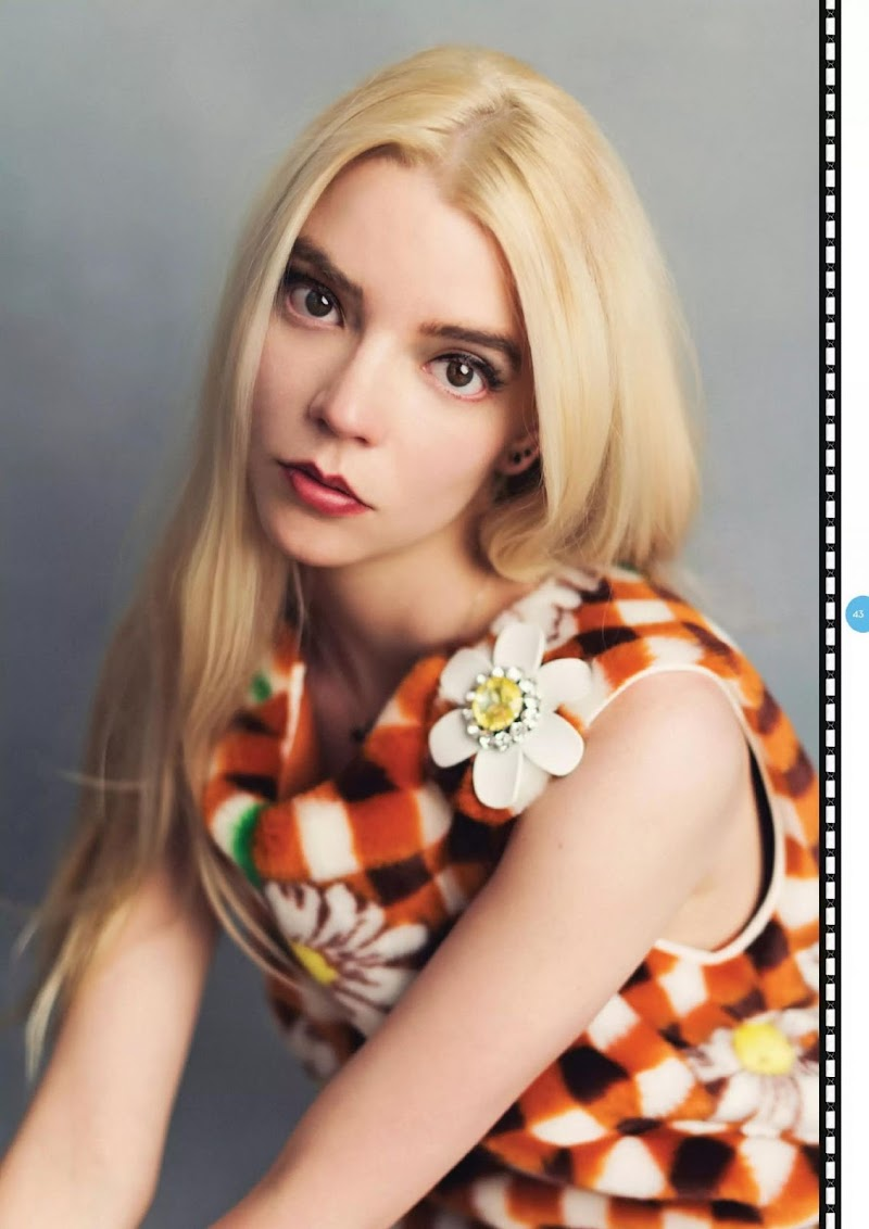 Anya Taylor-Joy Featured in Total Film Magazine -  Christmas 2020