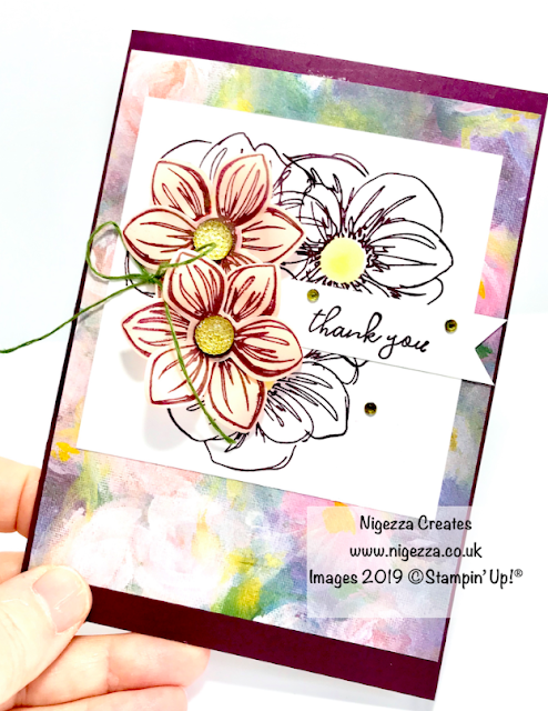 Nigezza Creates Stampin' Up! Perennial Essence