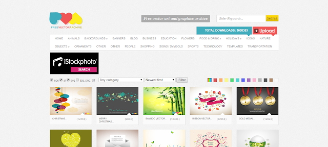 free design resources, free websites for vectors