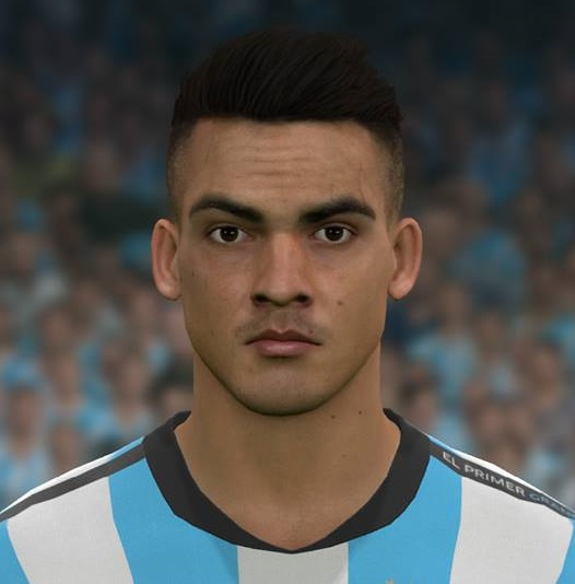Pes 2017 L Moura Face By Sameh Momen: PES 2017 Faces Lautaro Martinez By Sameh Momen