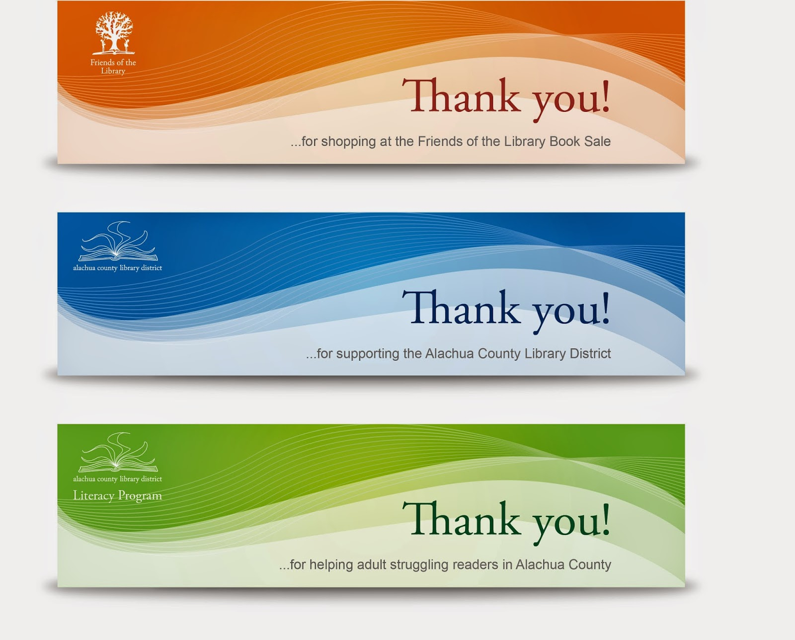 Library marketing design 201410 three 138x36 inch vinyl banners not fabricated for use after design development reheart Choice Image