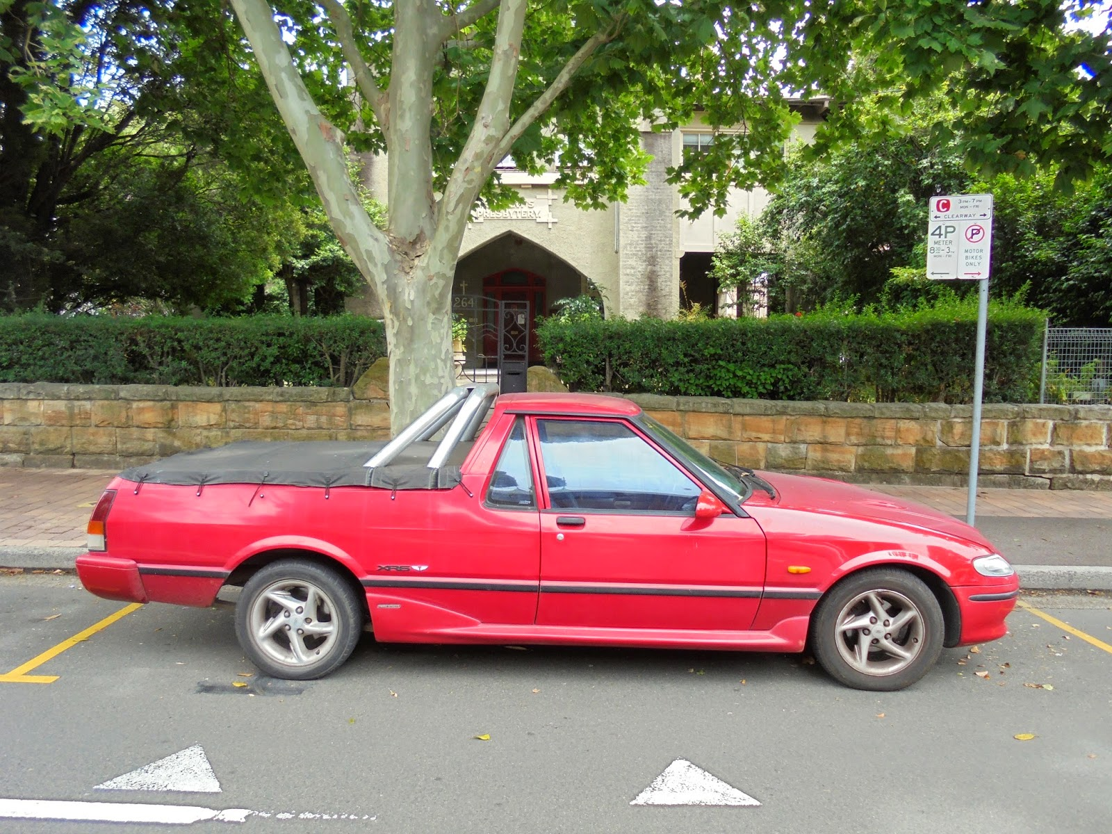 Toyota Celica 2016 >> Aussie Old Parked Cars: 1997 Ford XH Falcon XR6 Ute