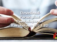 Download Perangkat Pembelajaran Kurikulum 2013 SD