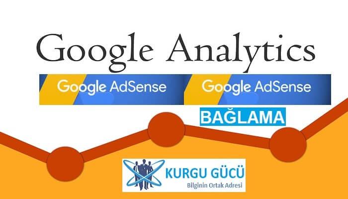Google Adsense Hesabını Google Analytics Hesabını Bağlama - Kurgu Gücü
