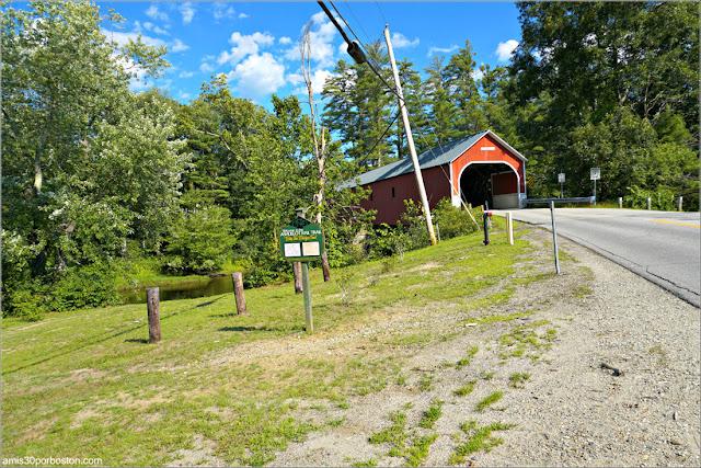 Cresson Covered Bridge en Swanzey, New Hampshire