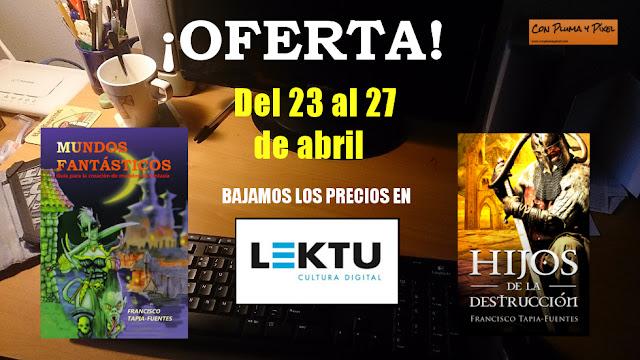 Semana del Libro en Con Pluma y Píxel ediciones