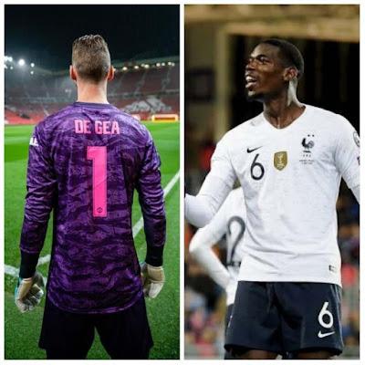Man Utd lose both Paul Pogba and David de Gea ahead of Liverpool clash